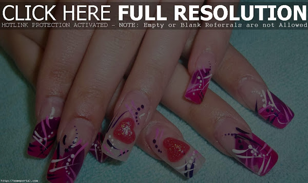 Cute Nail Designs For Short Acrylic Nails 127 E1385691273959 Cute Nail Designs For Acrylic Nails