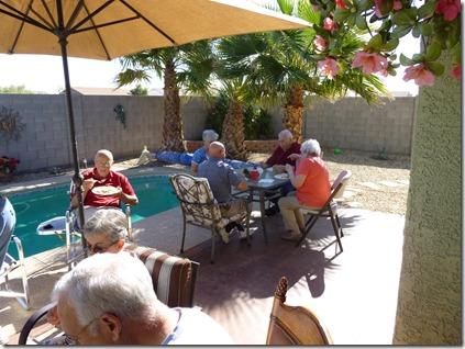 Enjoying the Arizona sunshine