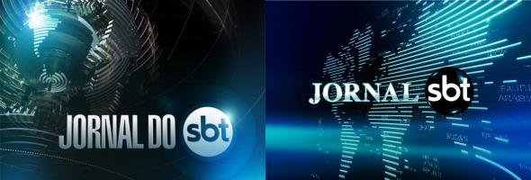 "Nova logomarca do ""Jornal do SBT"""