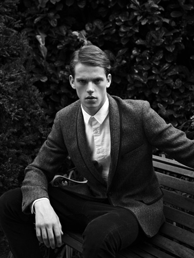 Jacob Barber @ Elite London by Duane Nasis  for Topman F/W 2011. Styled by Harry Lambert