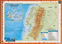 111 - Mapa Físico del Ecuador
