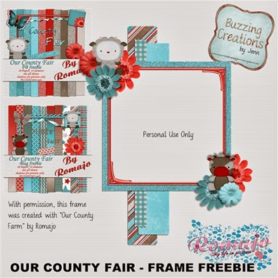 Romajo - Our County Fair - Frame Freebie Preview