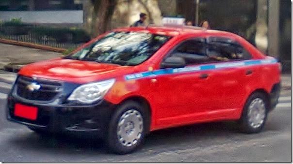 chevrolet cobalt táxi de porto alegre