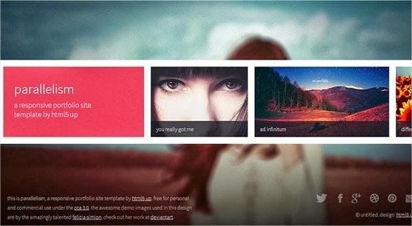 10 nuevas plantillas HTML5 con Responsive Design 1