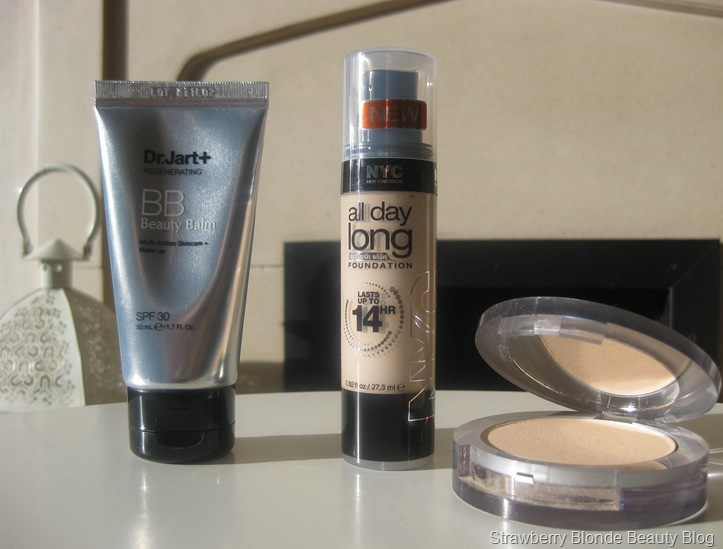 Pale-skin-foundation-NYC-All-Day-Long-Pur-Minerals-Dr-Jart-Regenerating