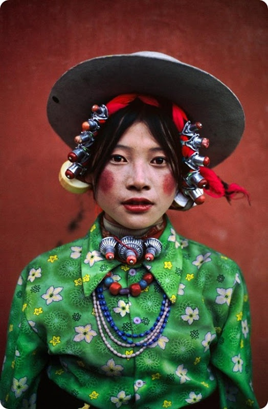 tibet girl portrait