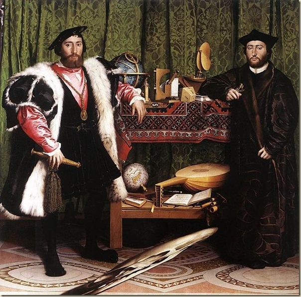 Holbein, Les ambassadeurs