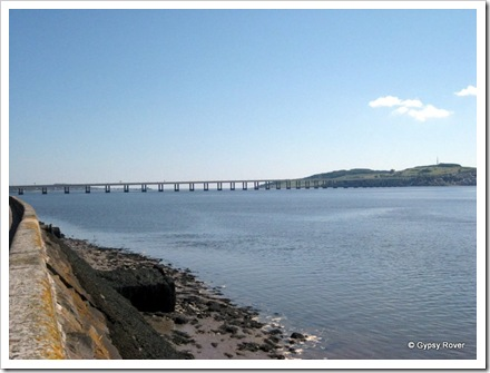River Tay road bridge.