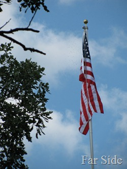 Flag at Bunker Hill