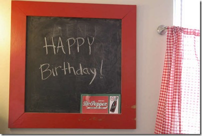 Menu Birthday sign_1