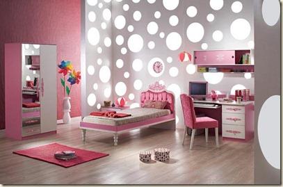 decoración de dormitorios juveniles femeninos3