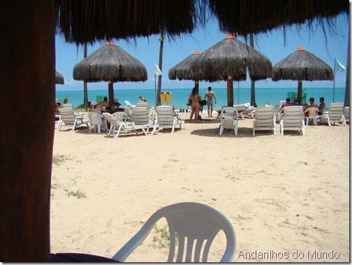 area da praia Salinas Maceió