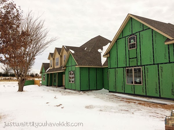 Week 16-Snowy House