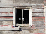 """The window to my Dad's barn"" - copyright Samantha Navarro"