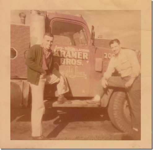 art Jerry Marshall truck 1952 scanned