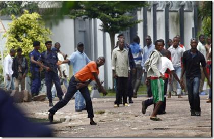 DRC Congo election violence