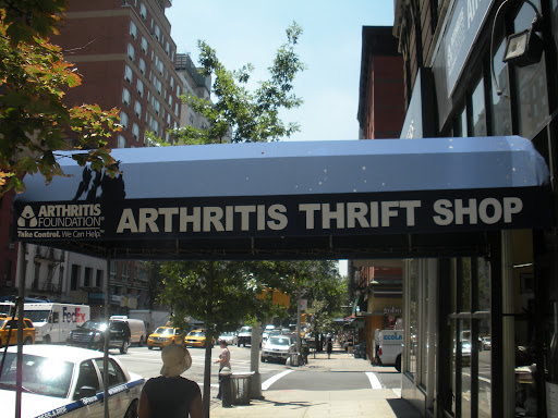 Moving on to the Arthritis Foundation Thrift Shop.