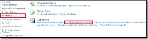 Configure Diagnostic Logging
