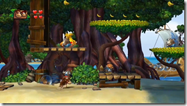 Donkey Kong Country Tropical Freeze, Diddy e Donkey aventura