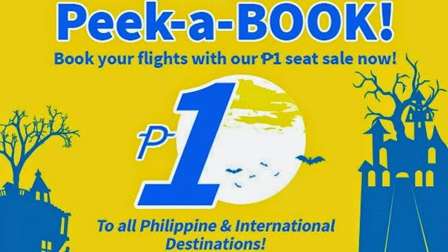 CebuPac Peek-a-Book Piso Fare