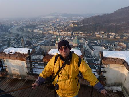 Pe citadela din Salzburg