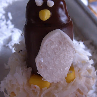 Candy Penguin Cupcakes