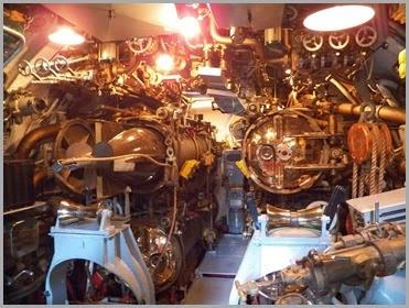 Torpedo tubes front