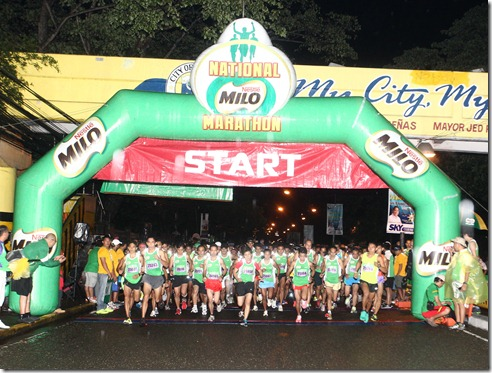 2 - 15,192 marathoners competed in the challenging terrain of Iloilo at the sixth qualifying race of the 37th National MILO Mar