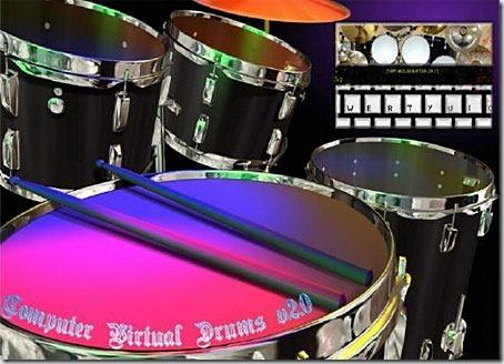 Computer-Virtual-Drums-2.0