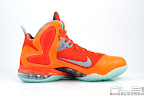 lebron9 allstar galaxy 39 web white Nike LeBron 9 All Star aka Galaxy Unreleased Sample