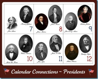 Calendar Connections Presidents