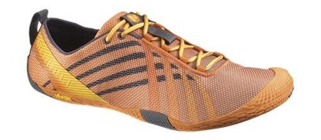 Merrell vapor glove mens russet orange