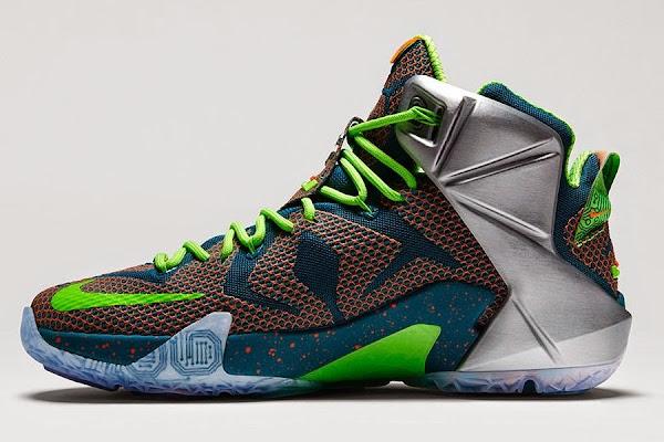Release Reminder Nike LeBron 12 Premium 8220Trillion Dollar Man8221