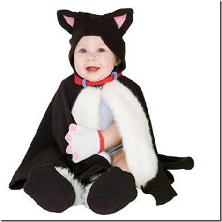 kostum Halloween kucing Lucu (2)