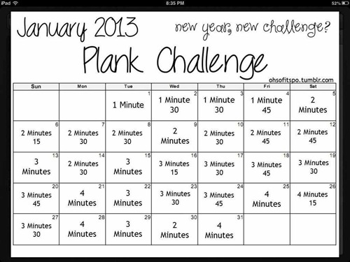 Plank Challenge