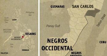 San Carlos Location Map