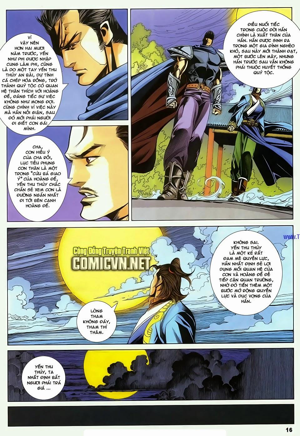 Cổ Long Quần Hiệp Truyện chap 83 - Trang 16