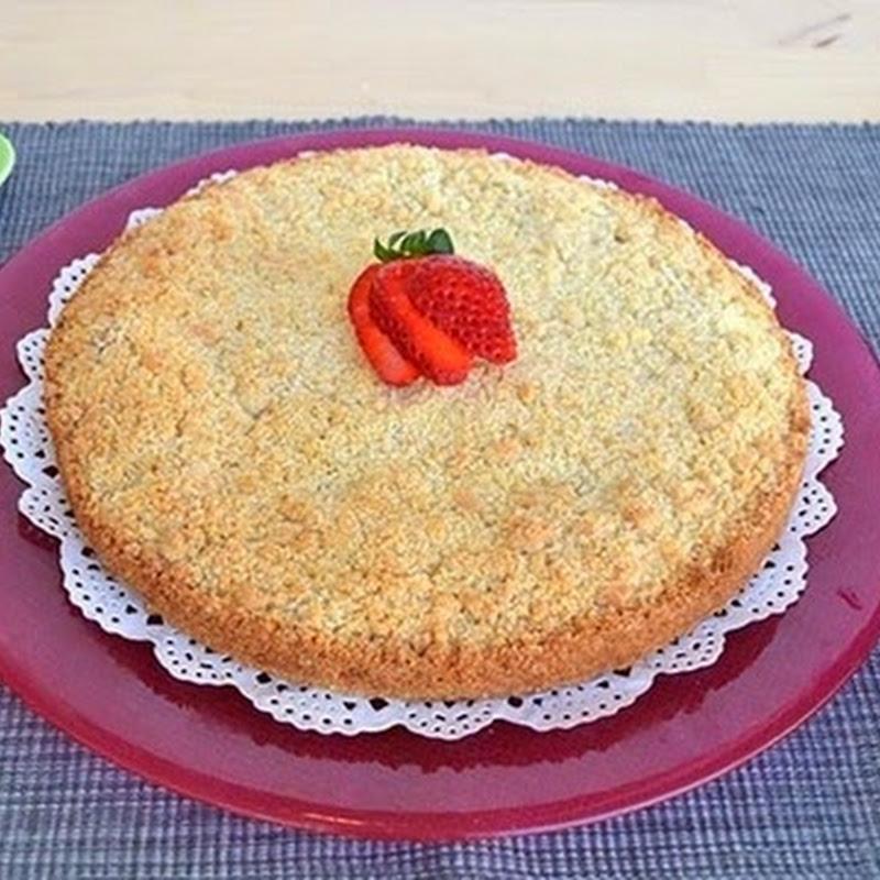 Πίτα με φράουλα