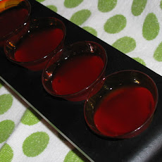 Cherry Cheesecake Shot