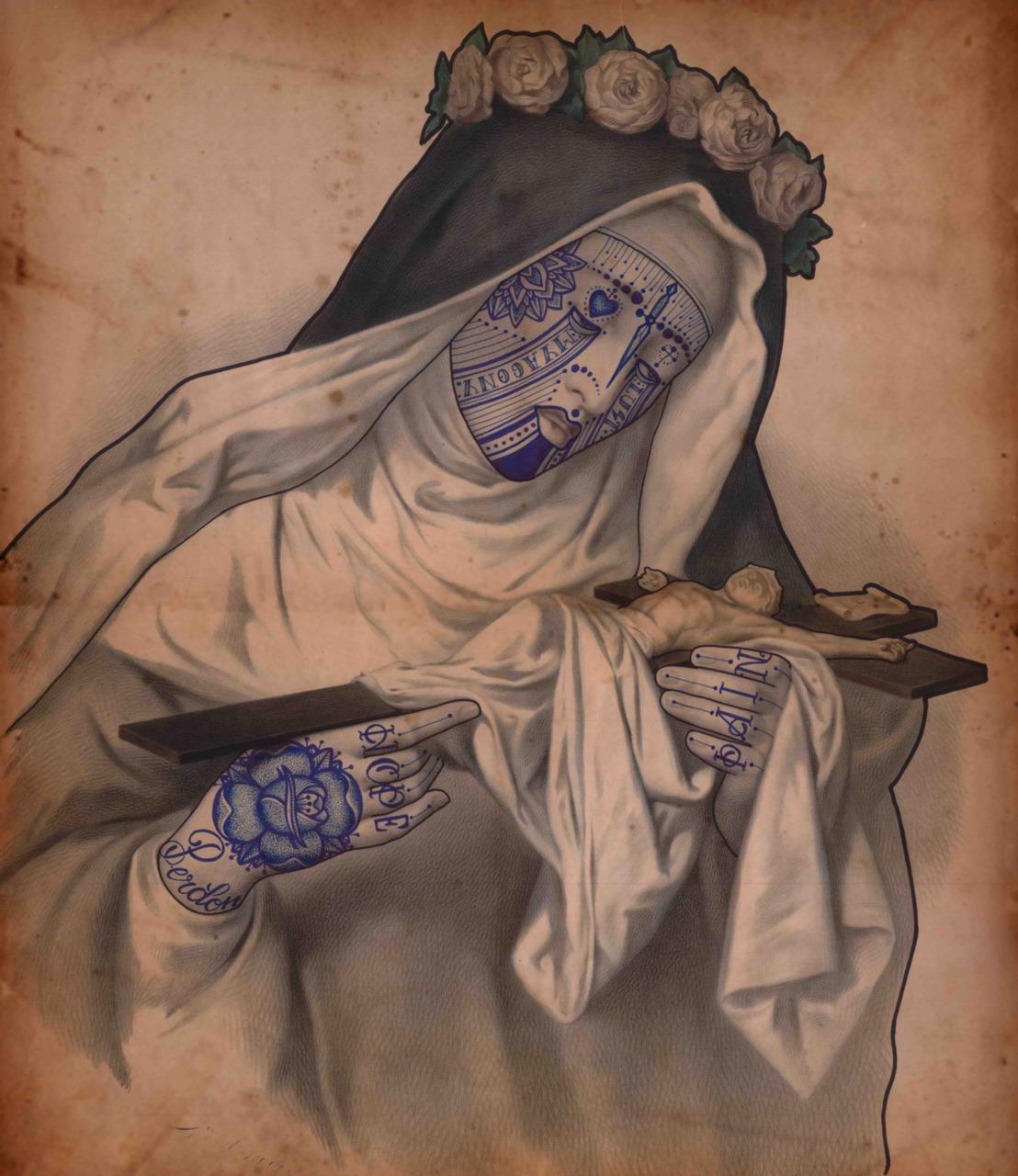 Julia R. Gallego: Tattooed Saints and Religious Anatomies