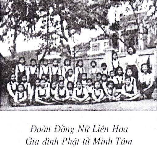 Đoàn Đồng Nữ Liên Hoa GĐPT Minh Tâm (Chùa Quán Sứ) - 1952