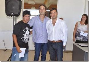 El acto estuvo encabezado por el intendente de La Costa, Juan Pablo de Jesús, en compañía del secretario de Desarrollo Social, Facundo Nores