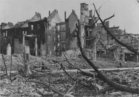 Page 15 Residentail area Cologne Bomb Damage