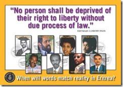 Eritrea Prisoners