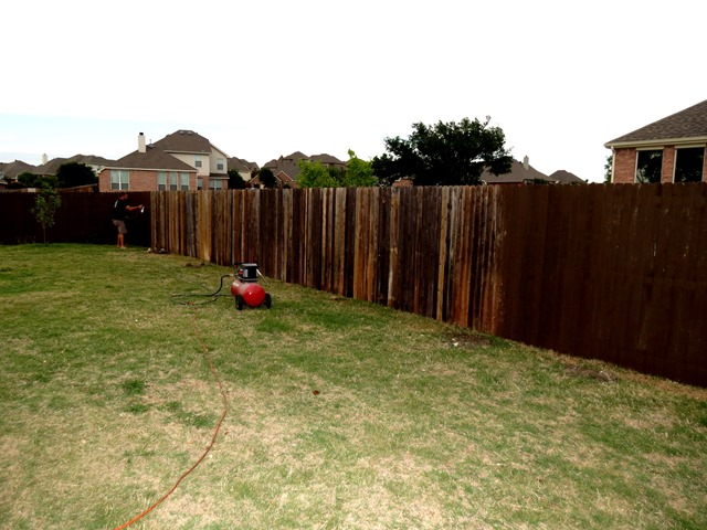 How to Build a New Fence Using Old Scraps www.stylewithcents.blogspot.com. 5
