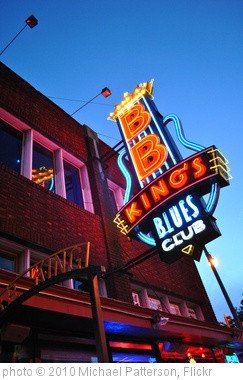 'BB Kings in Memphis' photo (c) 2010, Michael Patterson - license: http://creativecommons.org/licenses/by-nd/2.0/