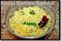 Paasi Parupu Sundal