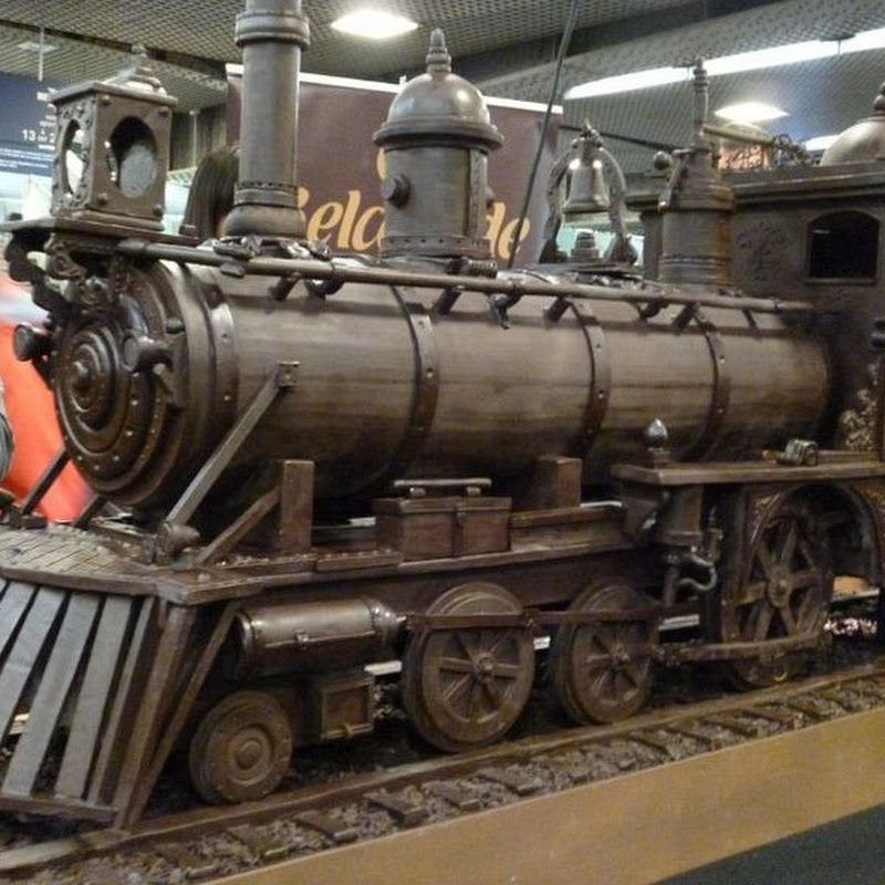 34-metre Model Train Made Entirely From Chocolate
