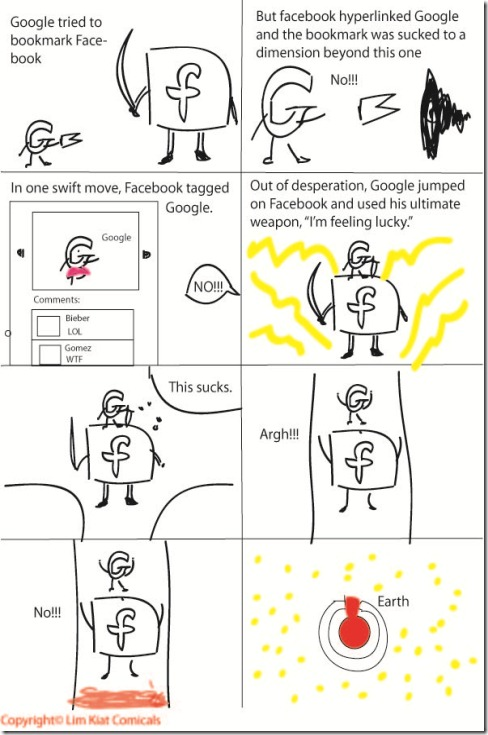 Google VS Facebook Part 3