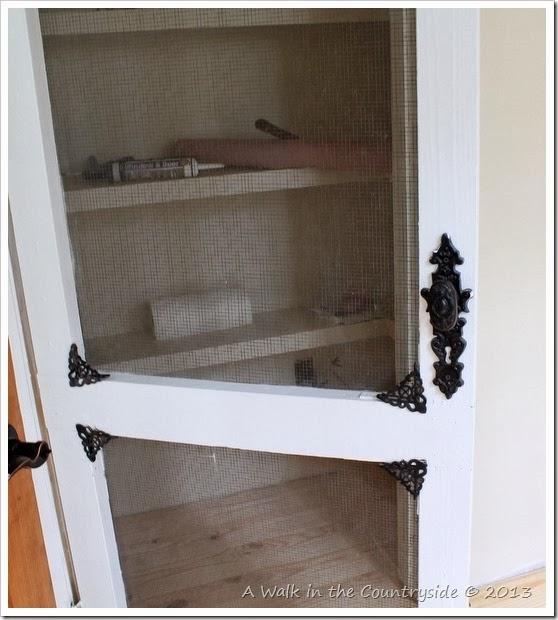 closet with screen door